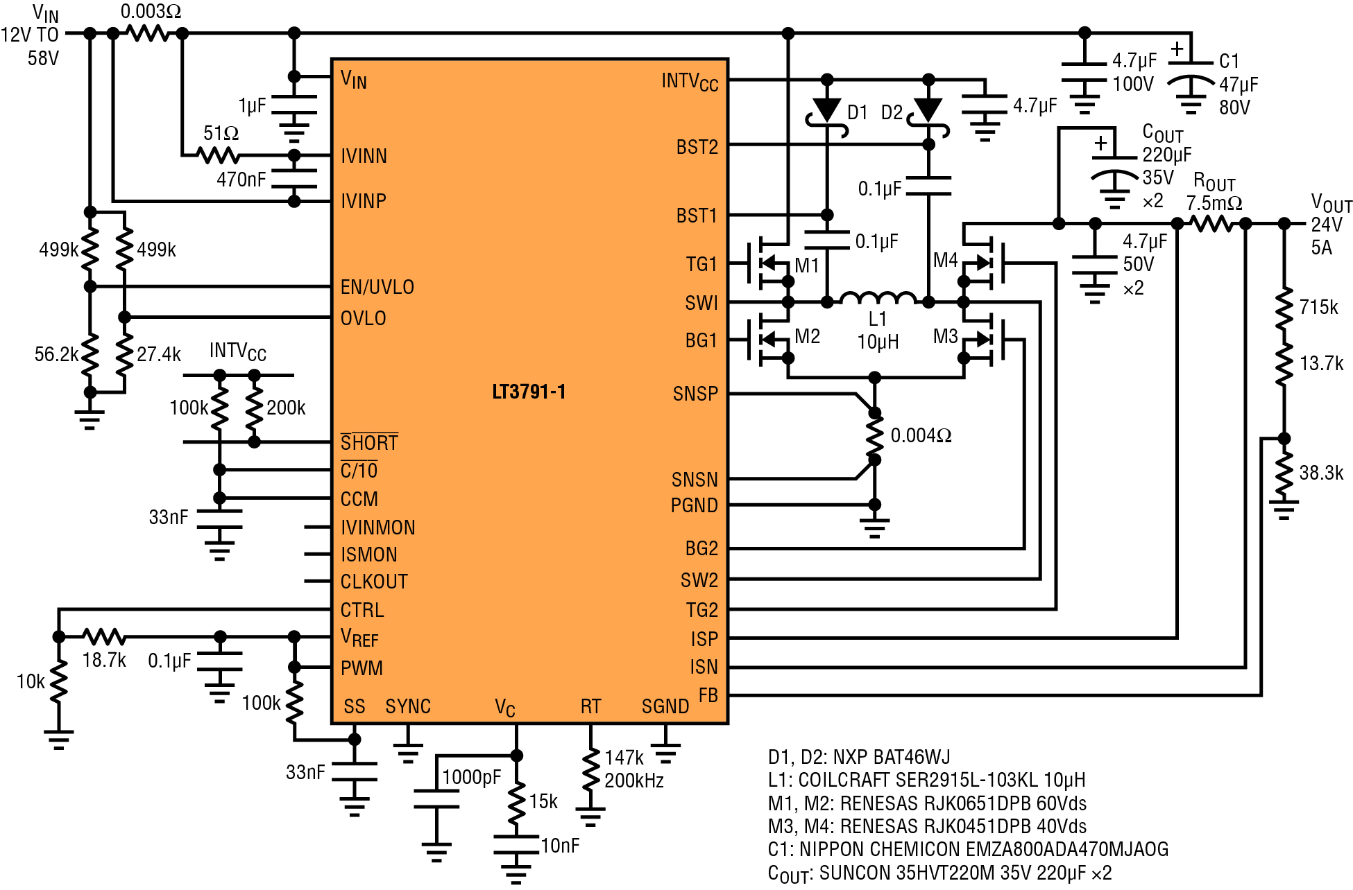 medium resolution of 120w 24v 5a output buck boost voltage regulator