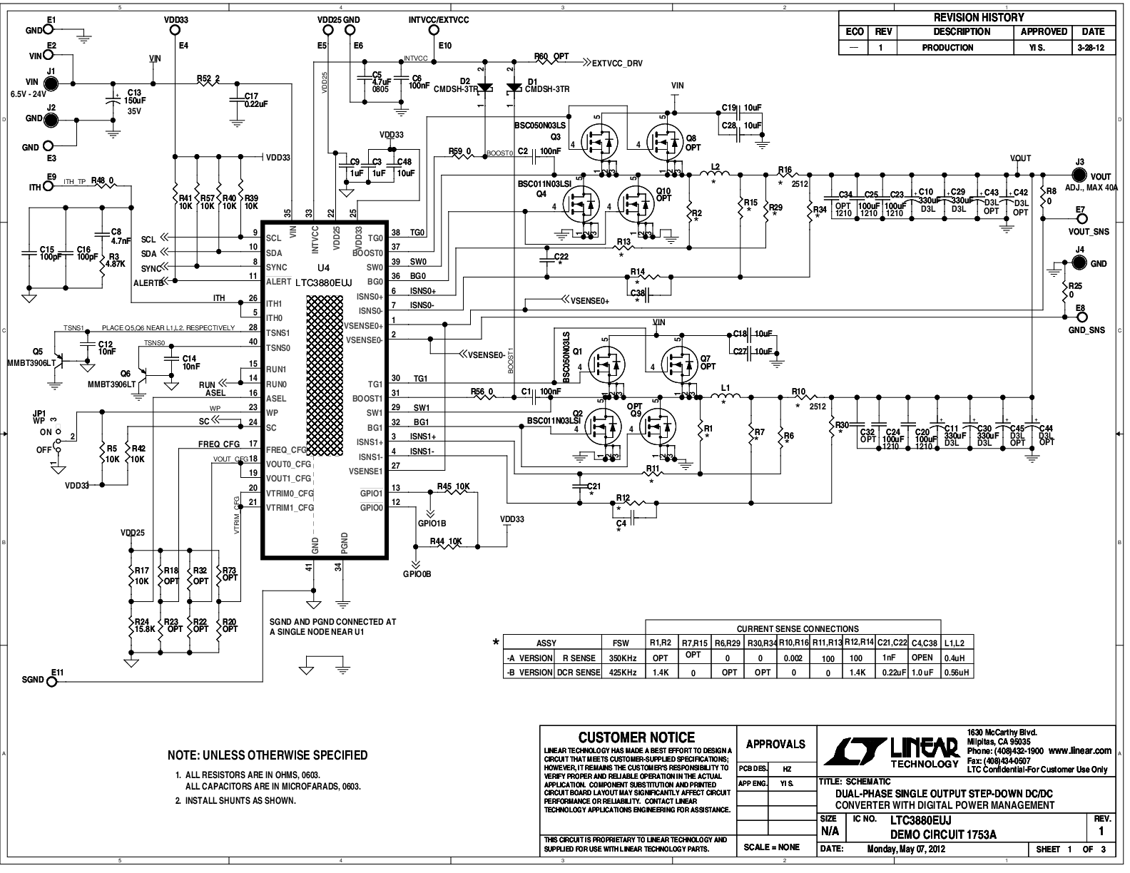 dc regulated power supply circuit diagram wiring 4 pin trailer harness ltc3880 datasheet and product info analog devices