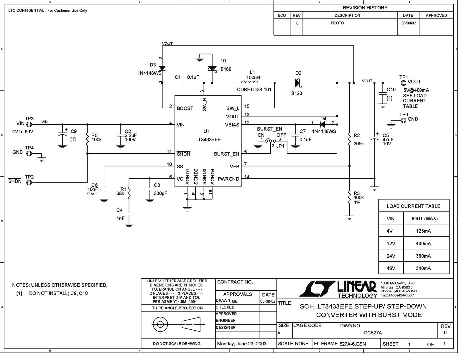 hight resolution of lt3433 datasheet and product info analog devices step up step down dc to dc converter circuit diagram using lt3433