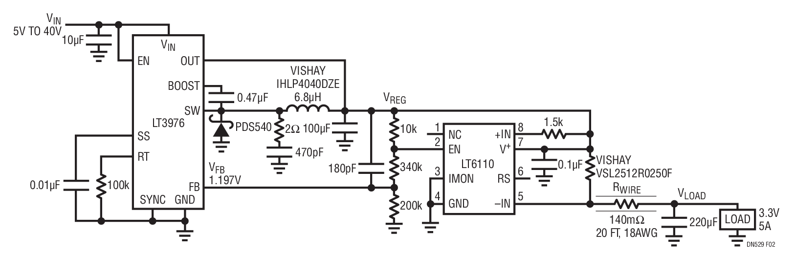 small resolution of control the voltage of a remote load over any length of copper wire rh analog com generator voltage regulator wiring diagram regulator rectifier wiring