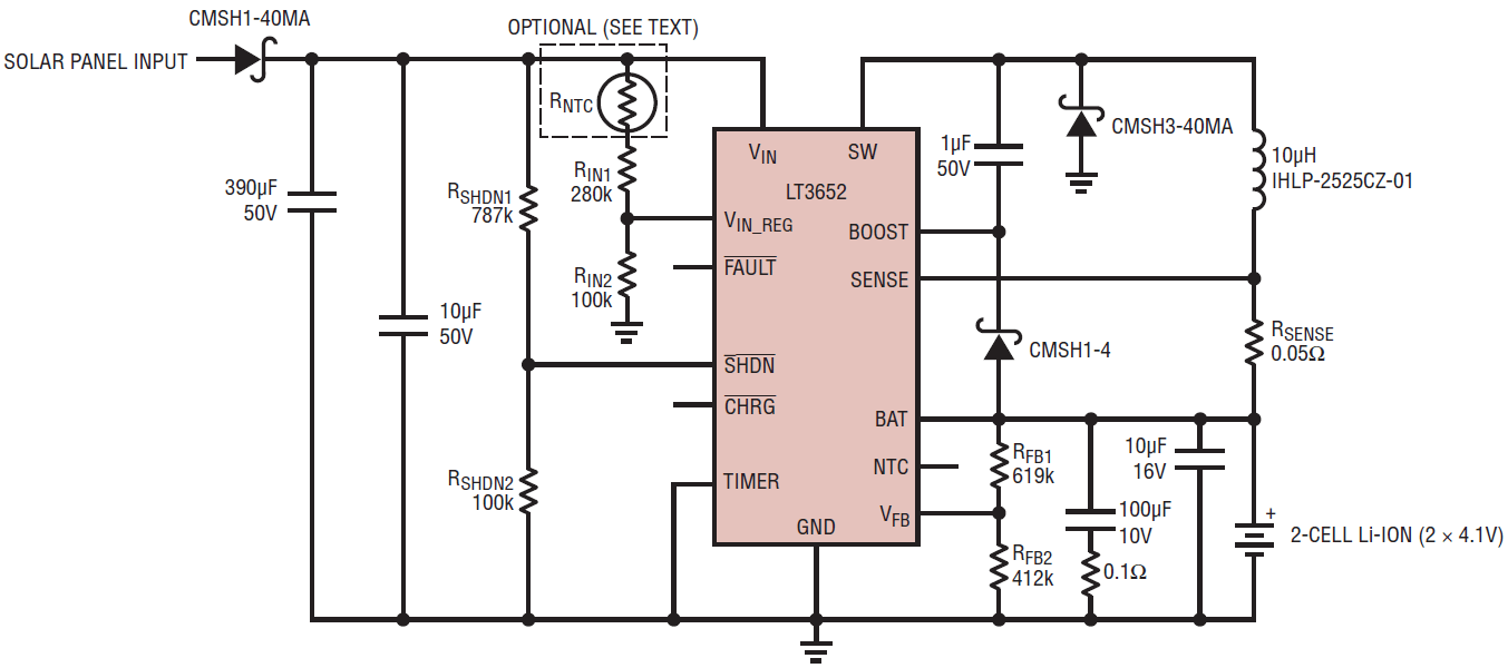 hight resolution of designing a solar cell battery charger analog devices2a solar powered battery charger