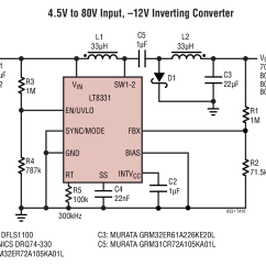 12vdc To 12vac Converter Circuit Diagram F350 Trailer Wiring Differences Between The Ćuk And Inverting
