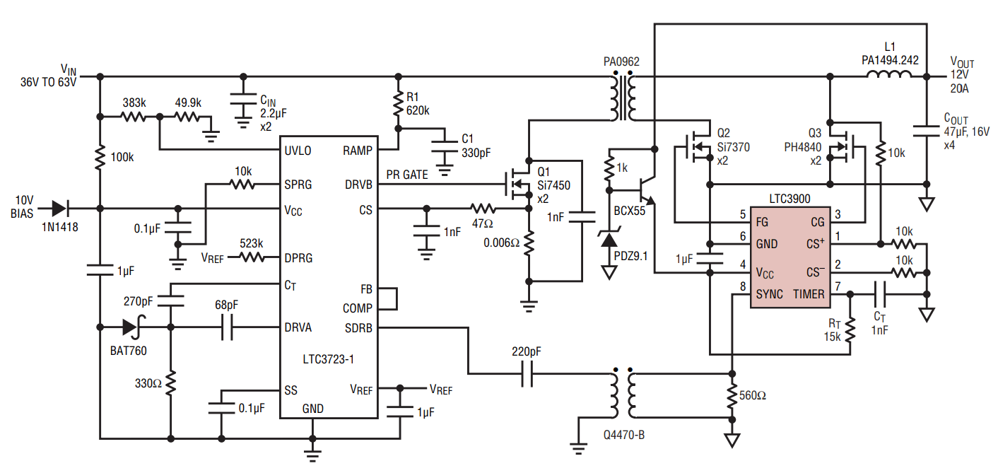 medium resolution of efficient and reliable drive for synchronous mosfet rectifiers com circuitdiagram basiccircuit programmableinverterrectiferhtml source circuit diagram
