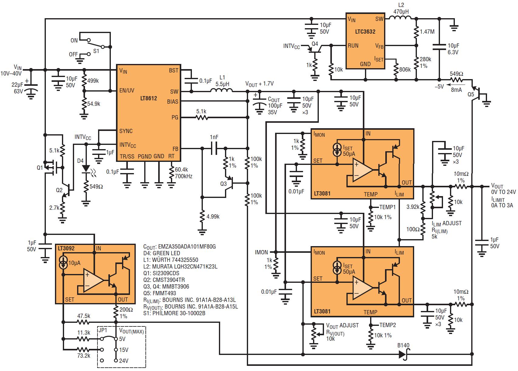 12v 5a dc power supply circuit diagram [ 1706 x 1224 Pixel ]