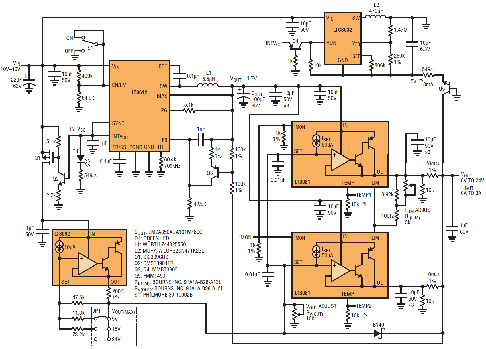 high performance portable dc bench power supply save money and free circuits gt 6 12 volt adjustable power supply circuit schematic diagram [ 1706 x 1224 Pixel ]