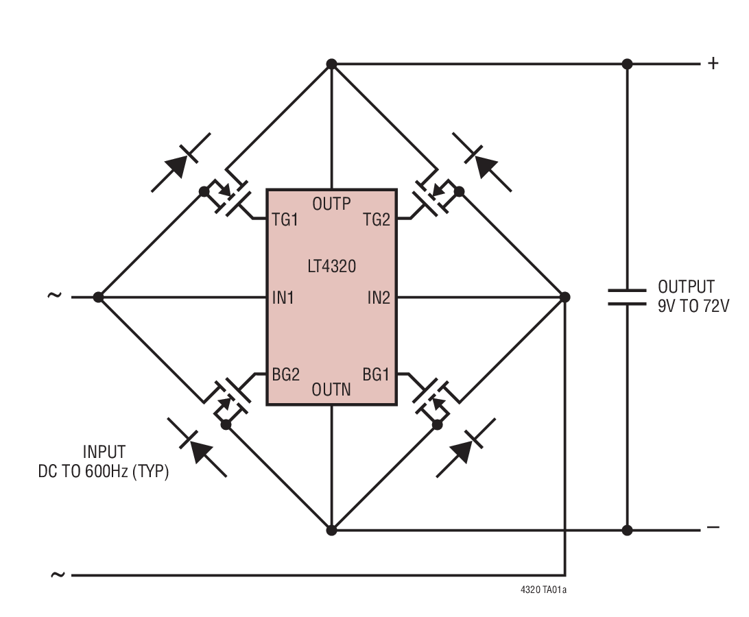 small resolution of the dreaded file test on an lt4320 ideal diode bridge controller