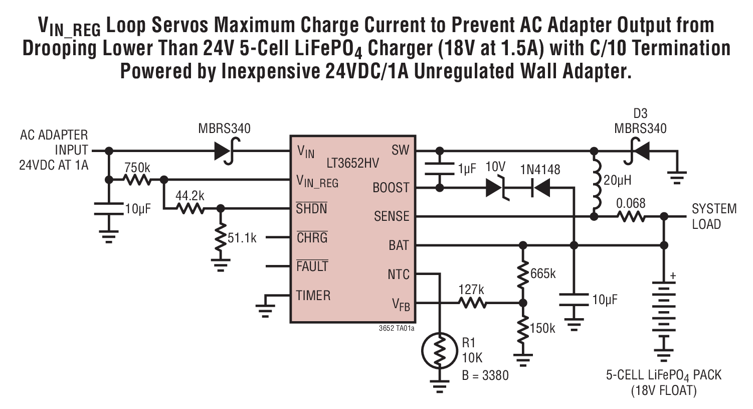 small resolution of lt3652hv wall adapter to 5 cell lifepo4 battery charger circuit u003cimg src u003d