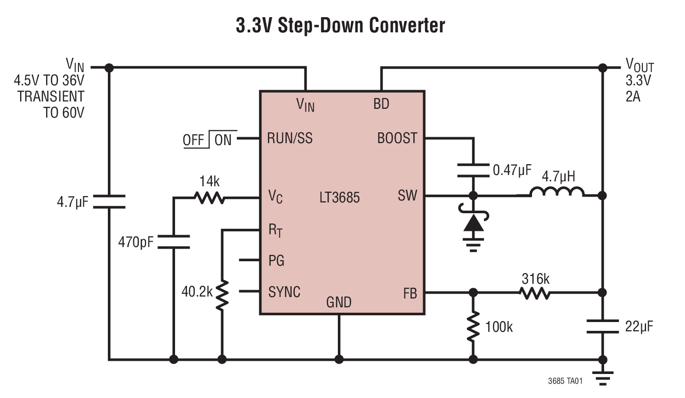 small resolution of 3 3v step down converter