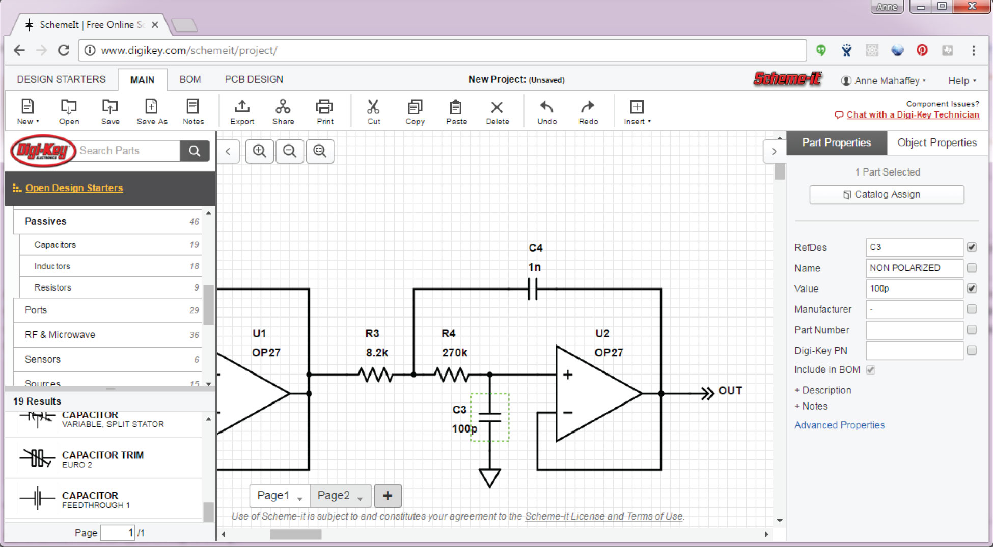 small resolution of digi key s scheme it schematic tool