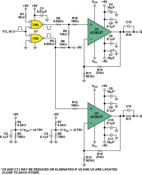 figure 7 analog laser drive circuits