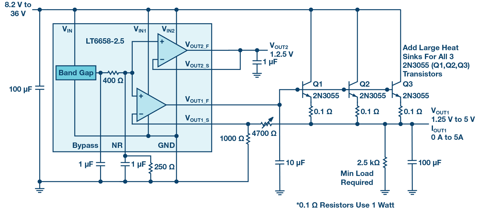 the many uses of a 200 ma precision voltage reference analog devices precision dual tracking voltage references circuit diagram [ 1602 x 703 Pixel ]