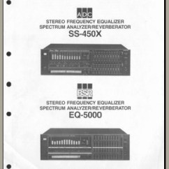 Alpine Type X 12 Wiring Diagram 1995 Ez Go Golf Cart Adc Ss-450x, Analog Alley Manuals