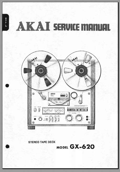 Akai GX-620 Service Manual, Analog Alley Manuals
