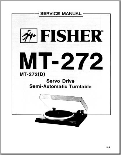 Fisher MT-272, (D) Service Manual, Analog Alley Manuals