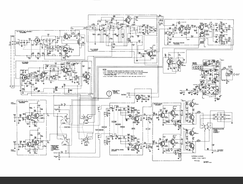 Harman Kardon 520/530 Receivers Schematic Diagram, Analog