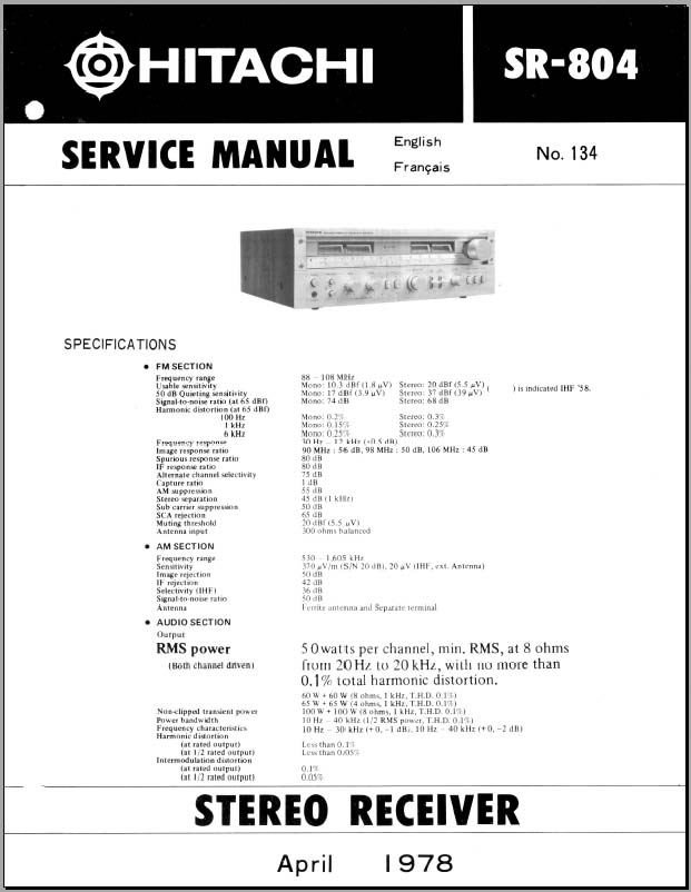 Fm Receiver Circuit Diagram And Specification O Datasheet And