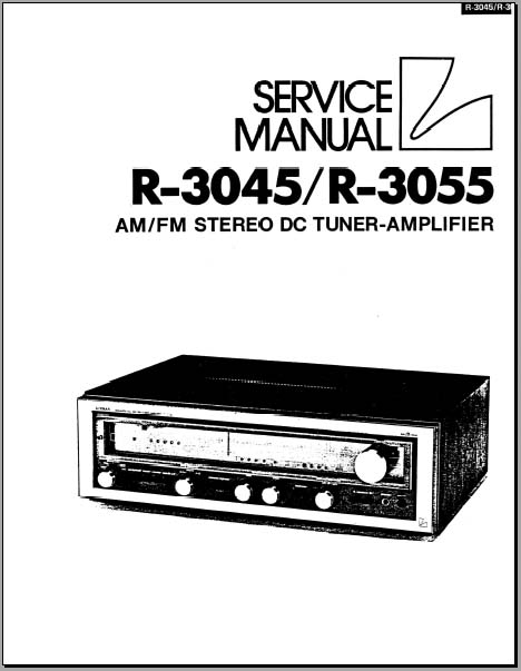 Luxman R-3045/R-3055 Service Manual, Analog Alley Manuals