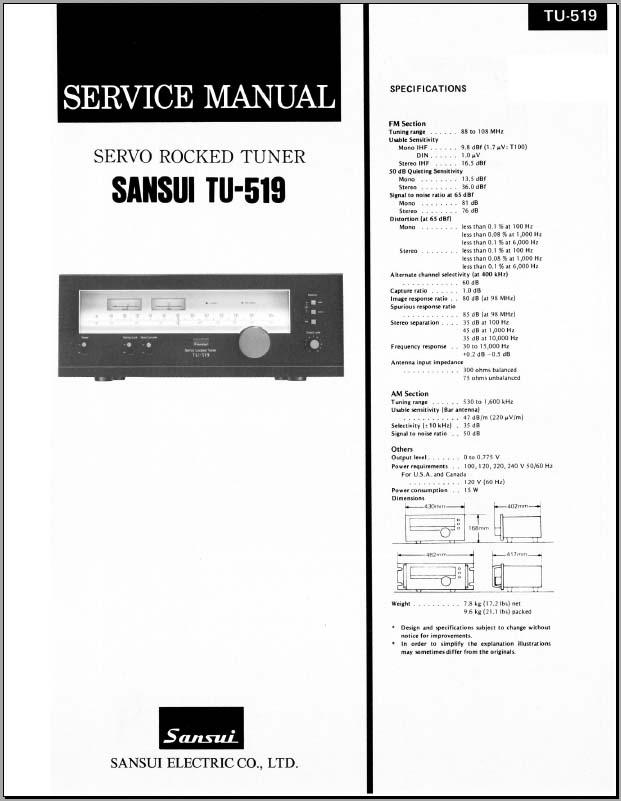 fujitsu ten wiring diagram mitsubishi banshee lights sansui tu-519 service manual, analog alley manuals