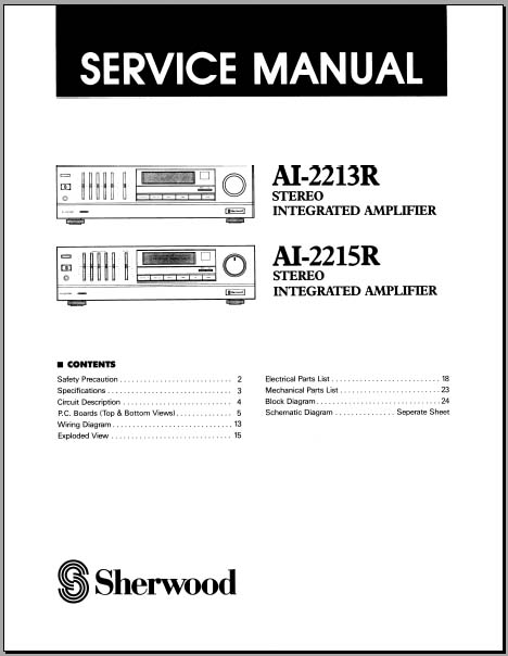 alpine type s wiring diagram porsche 964 stereo sherwood ai-2213r, 2215r service manual, analog alley manuals