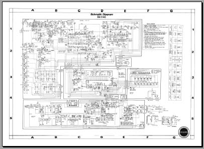 Sherwood RA1140 Schematic Diagram, Analog Alley Manuals