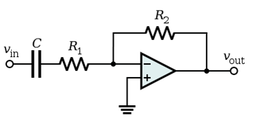 High Pass Filter Block Diagram