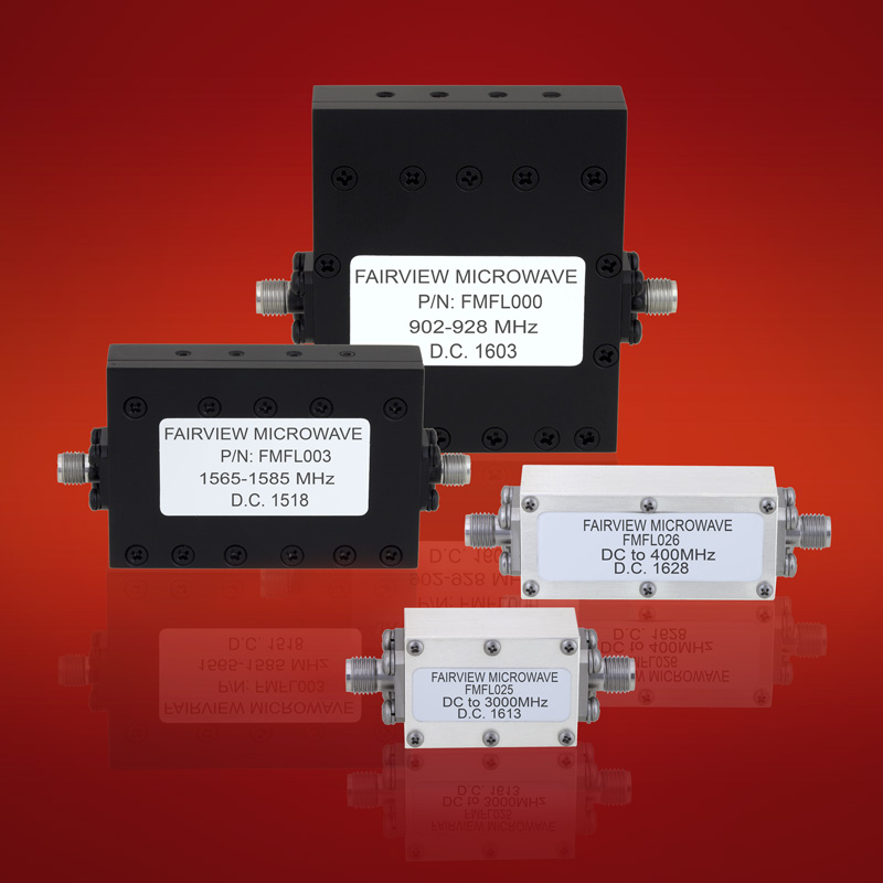 low pass bandpass sma coaxial filters