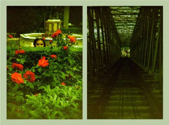 Fotos tomadas con un carrete Rollei Crossbird 200 (procesos cruzados).