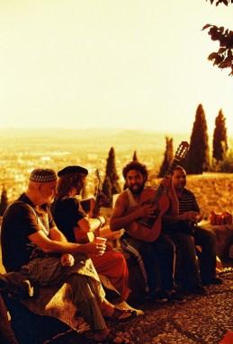 Foto Redscale tomadas con una Nikon FM en Granada