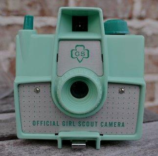 Fotografía de una cámara Imperial Mark Girl Scout