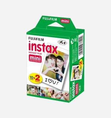 pack fuji instax mini de 20 fotos