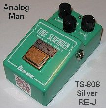 Ibanez Ts9 And Ts808 Tube Screamers Maxon Od9 And Similar
