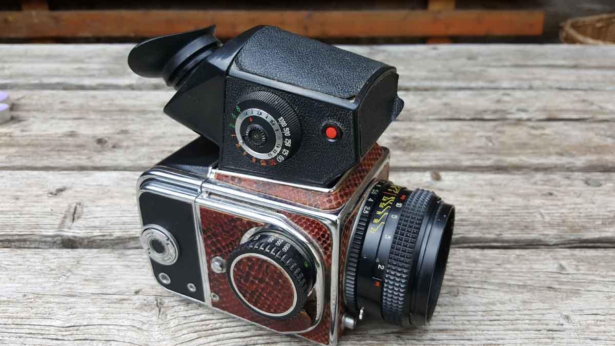 Kiev 88 Medium Format SLR Soviet Film Camera