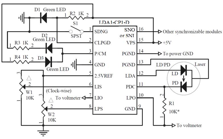 block diagram of thermistor