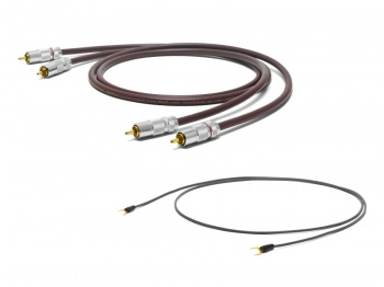 Oyaide PH-01RR RCA to RCA Tonearm Cable