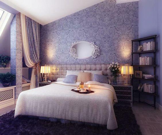 افكار لغرف نوم رومانسية