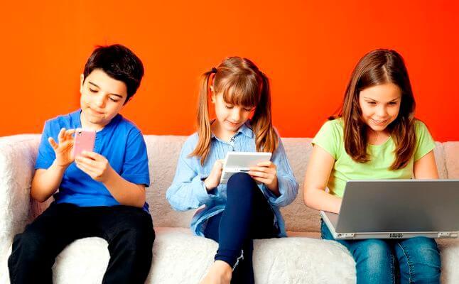 تأثير التكنولوجيا على الاطفال