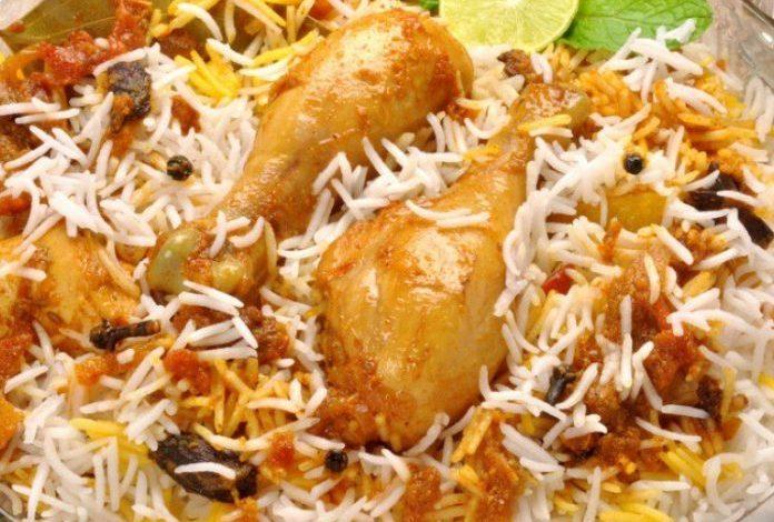 طريقة عمل بريانى الدجاج الهندى