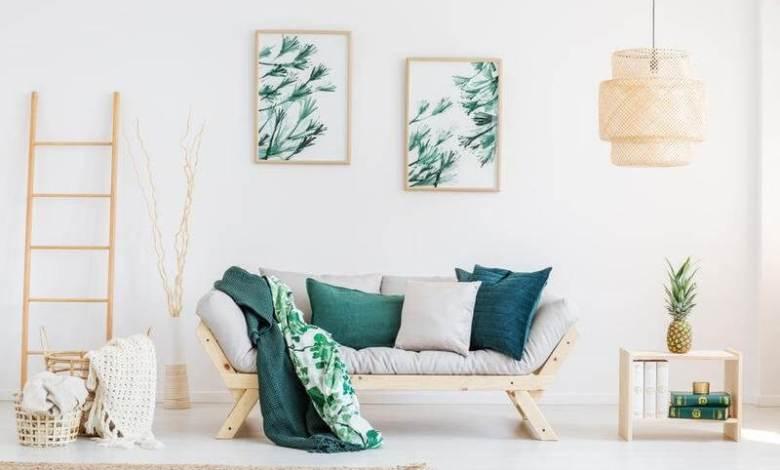 ديكور ورق الحائط واللوحات تبث الطاقة الإيجابية