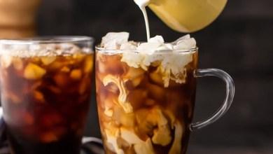 Photo of قهوة مثلجة بالفانيليا