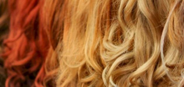 تفتيح لون الشعر بطرق طبيعية