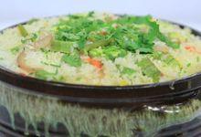 Photo of طاجن الأرز بالكوسة
