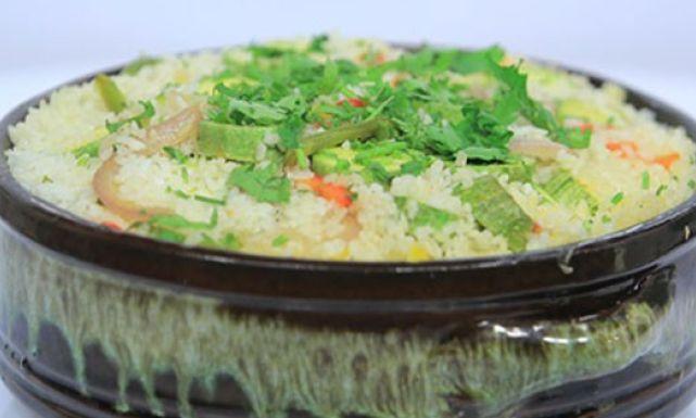 طاجن الأرز بالكوسة