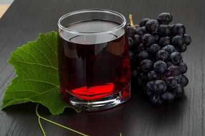طريقة عمل عصير العنب المركز الأسود