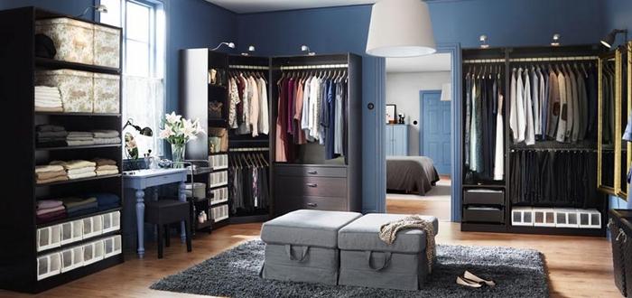 اجمل ديكورات لغرفة الملابس
