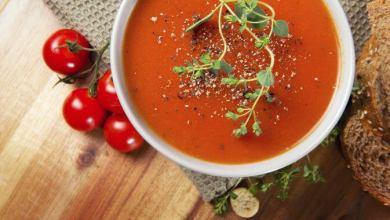 Photo of طريقة عمل شوربة الطماطم بالكريمة