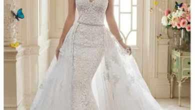 Photo of كيفية اختيار فستان الزفاف حسب شكل الجسم