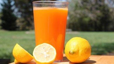 Photo of عصير الليمون والبرتقال