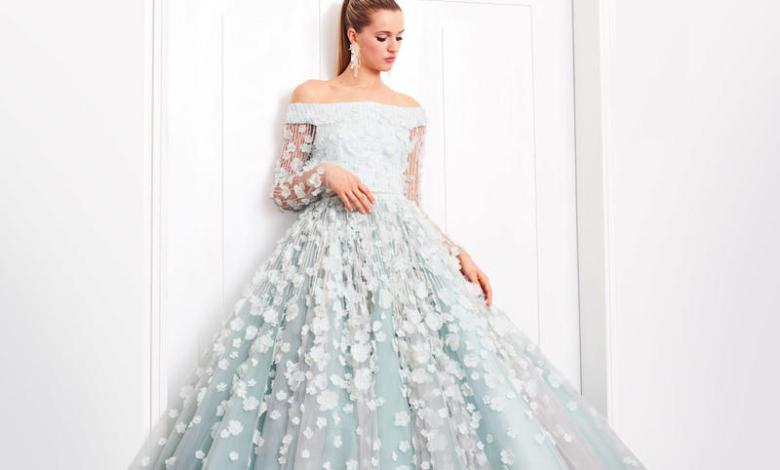 اشيك فساتين زفاف لعروس 2020