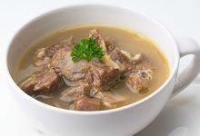 Photo of اللحم المسلوق بالشوربة المصرية