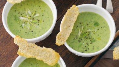 Photo of حساء البطاطس والبسلة الخضراء